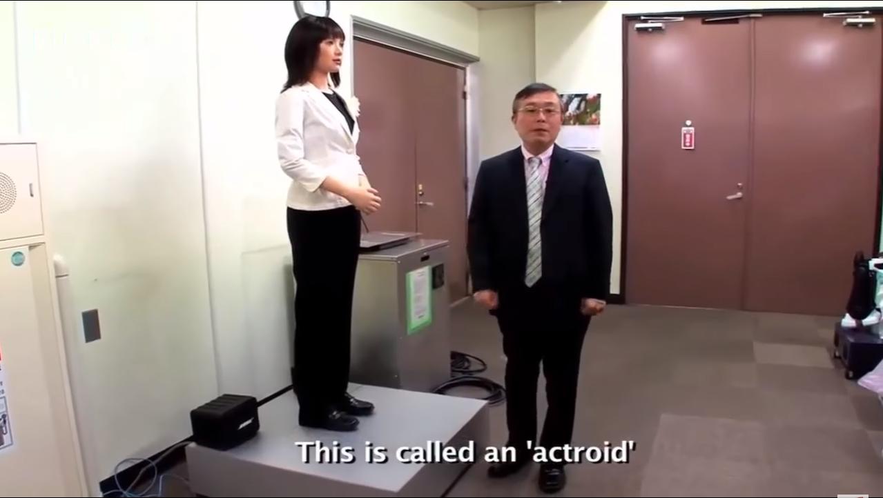 Actroid, Robot Baru dari Jepang yang Bisa Menyaingi Kecantikan Wanita