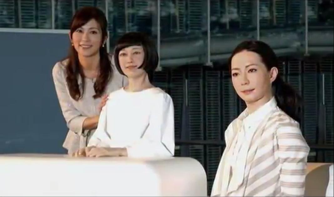 Apa Jadinya Jika Robot Gantikan Peran Wanita Cantik Sebagai Penyiar TV