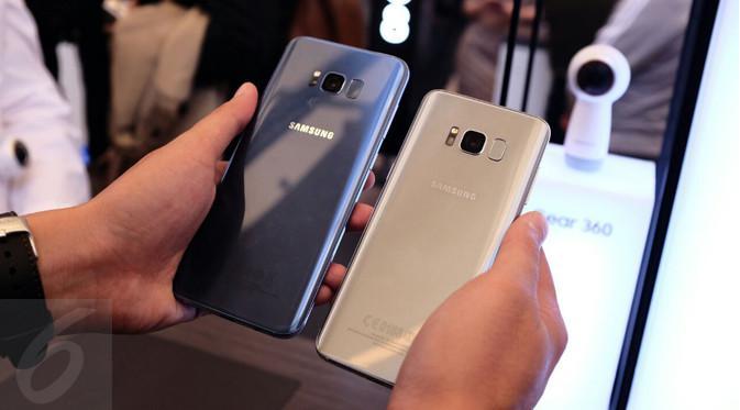 Tampilan Body Belakang Samsung Galaxy  8