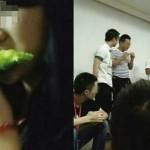 Beberapa Karyawan di Cina ini Dihukum Makan Sayuran Pahit Karena Gagal Mencapai Target Mingguan