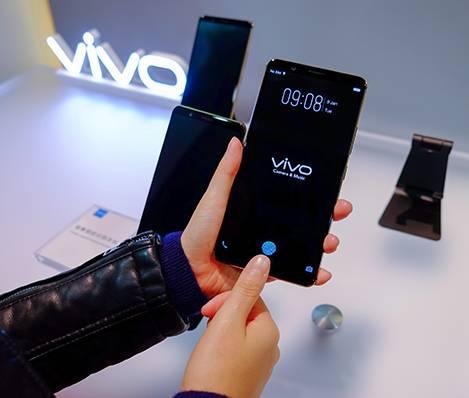 Teknologi in-display fingerprint Vivo